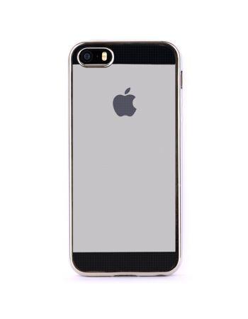 Чехол для iPhone InterStep для iPhone 5/5s серебристый